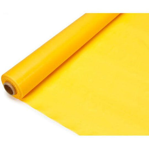 Banquet Plastic Table Roll Uncut, 40-inch x 100-feet, Yellow