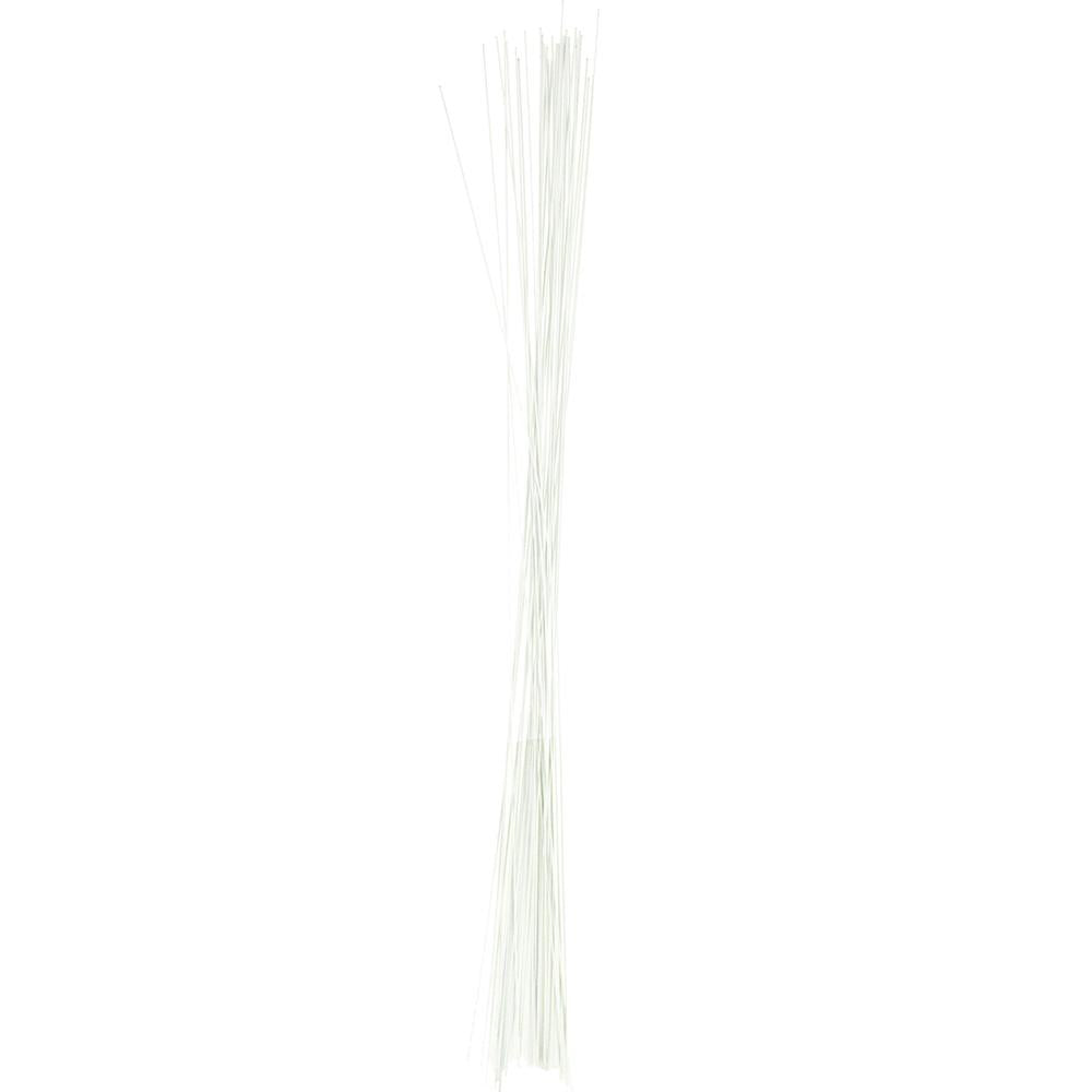 Aluminum Floral Wire, 18 Gauge, White, 18-Inch, 12-Count – www ...