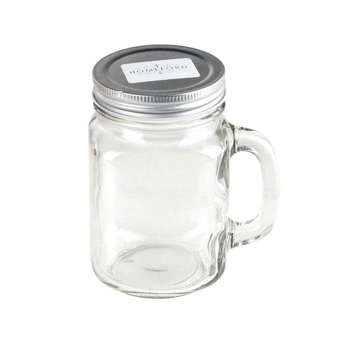 3-1/2-Inch Tall Glass Mason Jar, 12-Piece