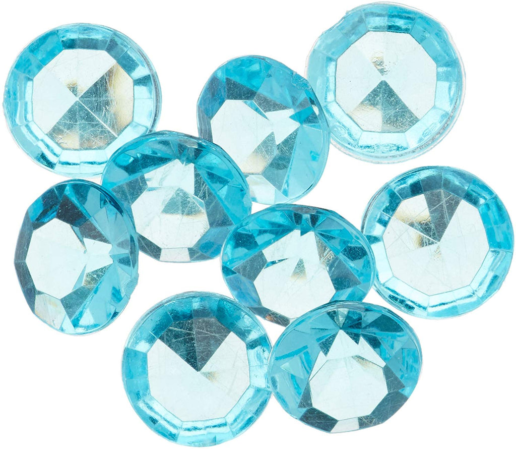 2000 piece Small Gemstone Diamonds Table Confetti, 1/4 carat, Turquoise