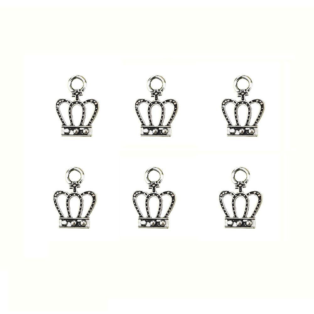 Royal Crown Charms, 1/2-Inch, 6-Count