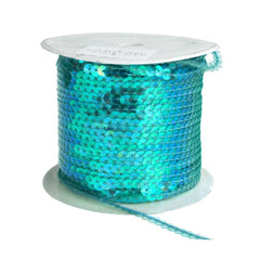 Metallic Sequins Ribbon, 1/4-Inch, 100 Yards
