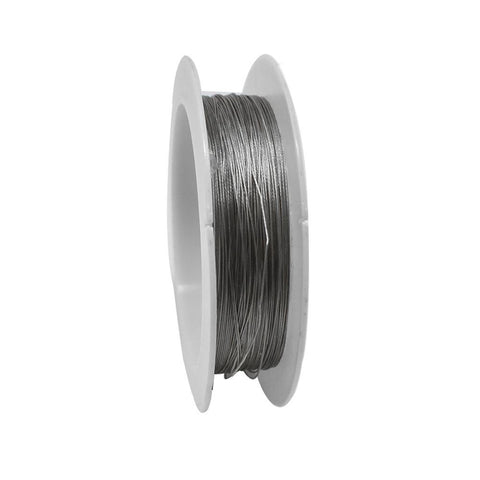Tiger Tail Beading Wire, 39-feet, Silver
