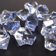 Acrylic Crystal Gem Stone Ice Rocks Table Scatter, 1-inch, 150-piece