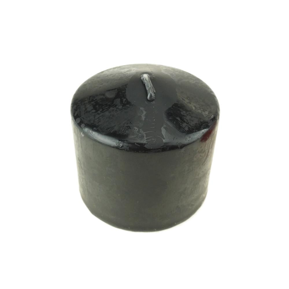 "Dome Top Press Unscented Pillar Candle, 3"" x 3"""