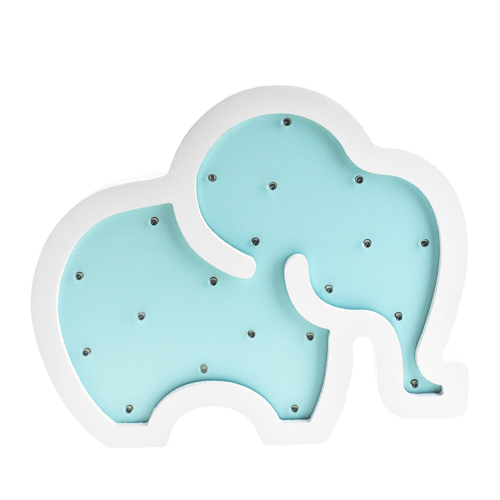 Elephant LED Light Up Wall Decor, 11-1/2-Inch