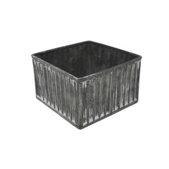 Small Galvanized Drawer Box, 4-3/4-Inch
