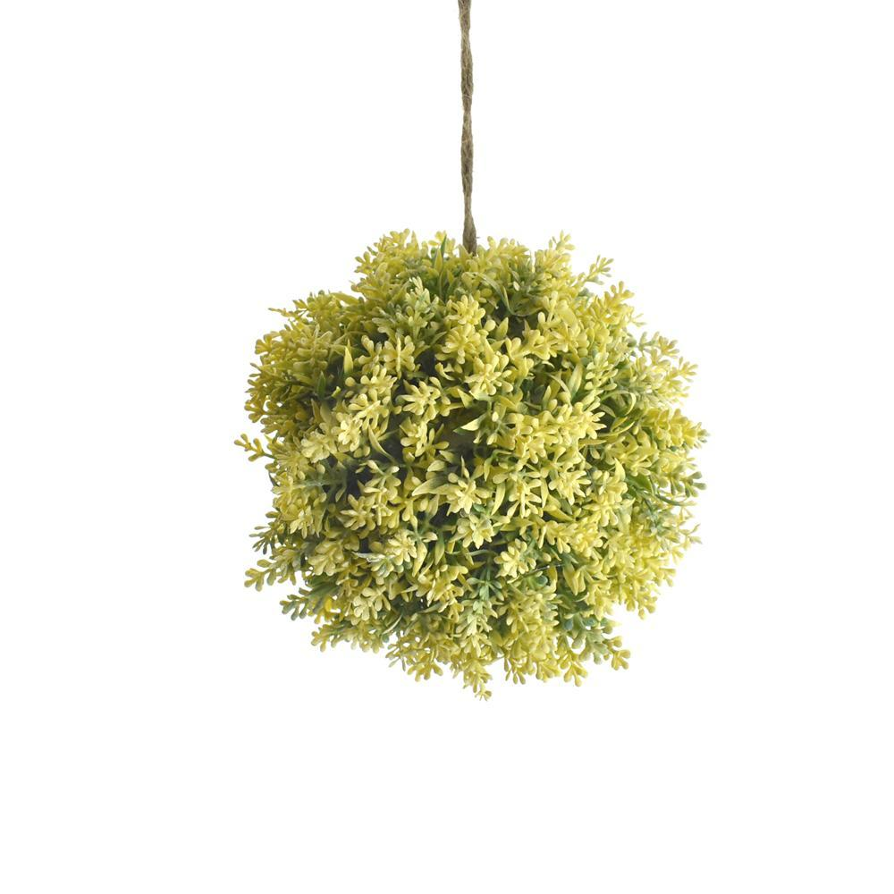 Hanging Japanese Moss Ornamental Ball, 5-1/2-Inch
