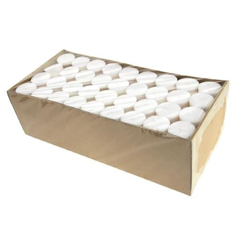 Votive Unscented Candles, 2-Inch, 72-Piece, White