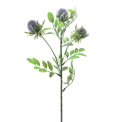 Artificial Thistle Spray, Lavender, 21-Inch