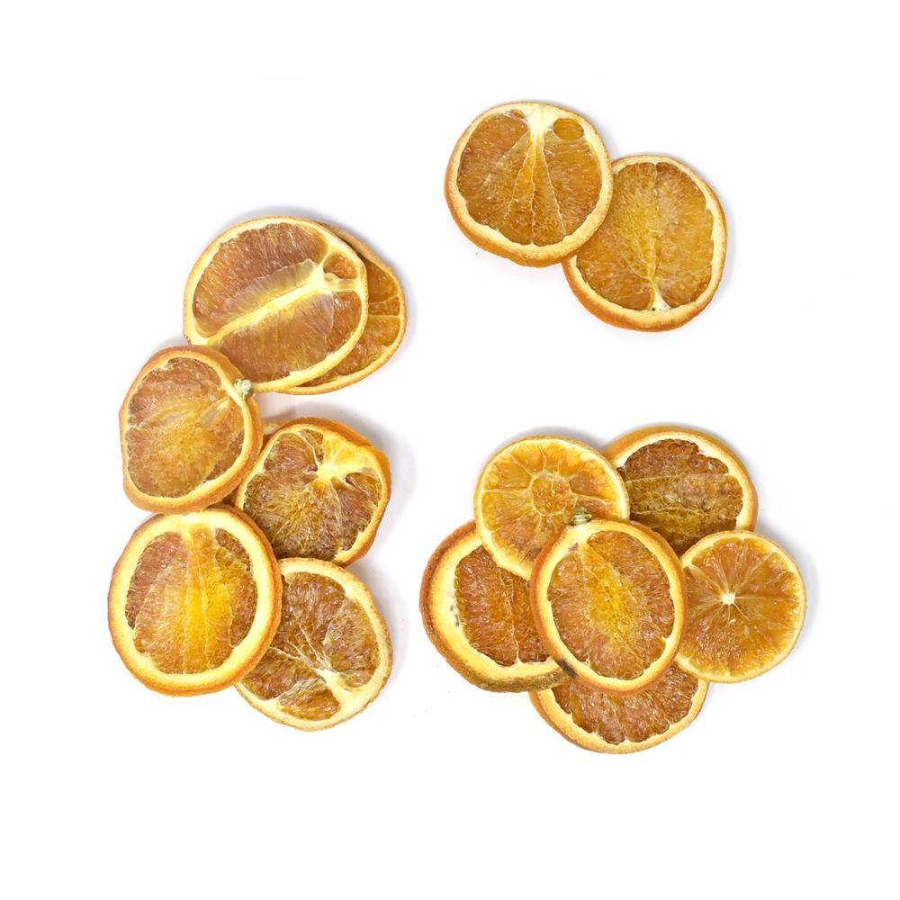 Dried Citrusy Orange Slices Bowl Filler, 4-Ounce