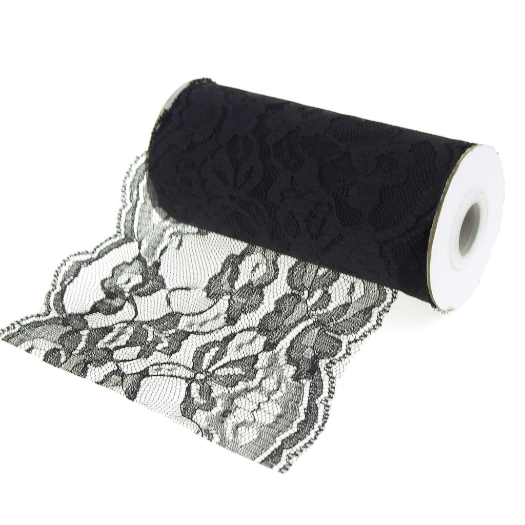 Floral Lace Roll, 5-1/2-inch, 10-yard
