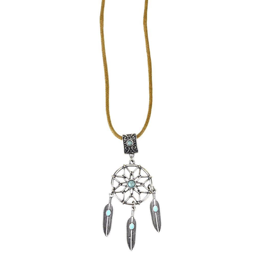 Dreamcatcher Party Necklace, 19-Inch