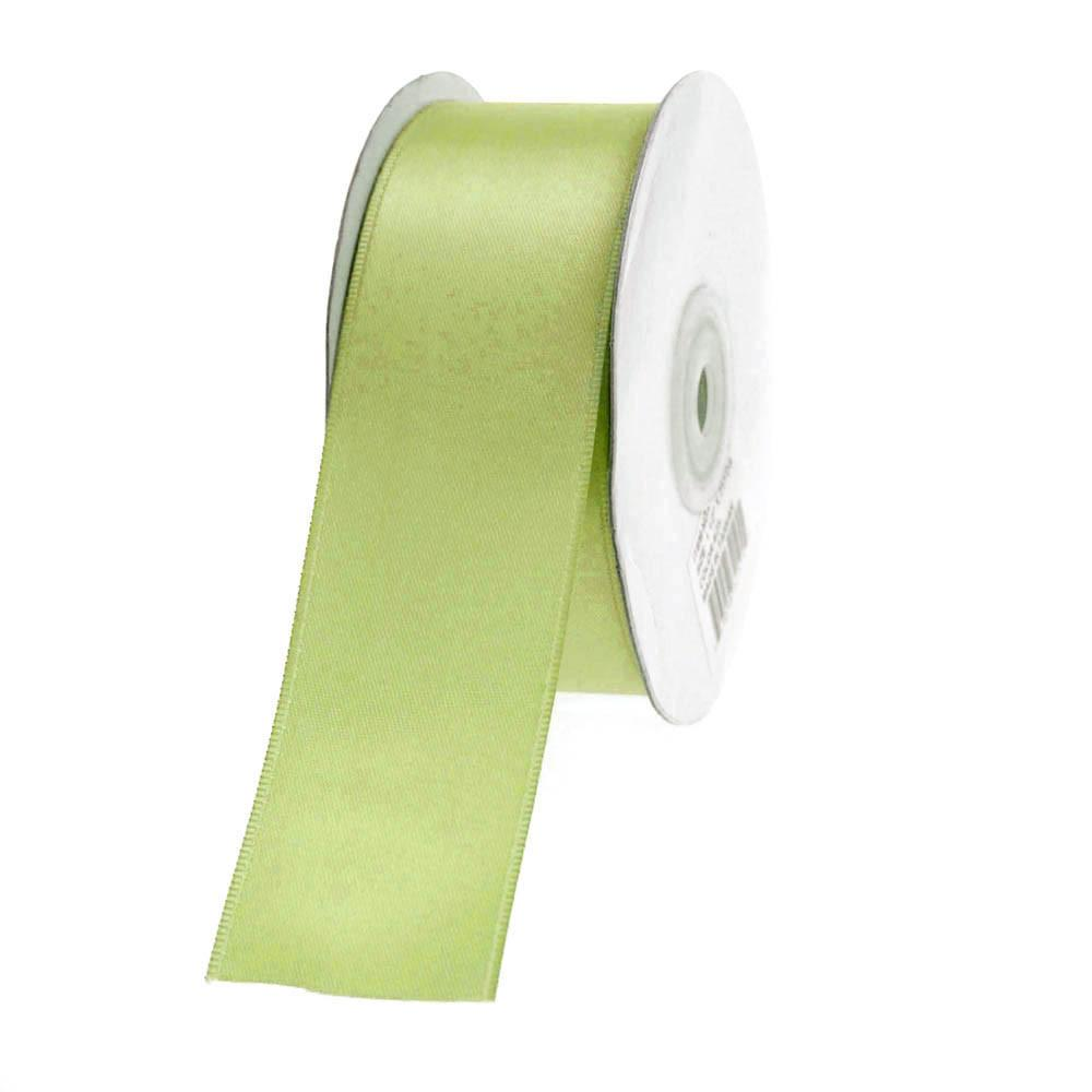 Double Faced Satin Ribbon, 1-1/2-inch, 25-yard, Mint Green