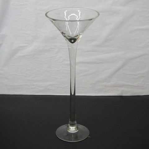 Jumbo Martini Glass Vase Centerpiece, 20-Inch