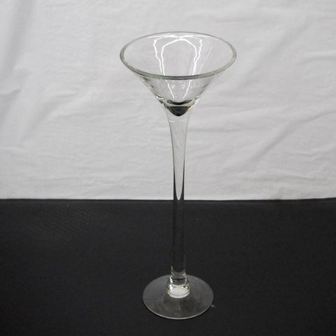 Jumbo Martini Glass Vase Centerpiece, 16-inch
