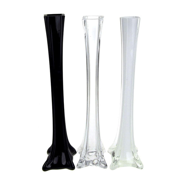 Tall Eiffel Tower Glass Vase Centerpiece Www Partymill Com
