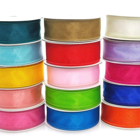 Sheer Chiffon Ribbon Wired Edge, 1-1/2-inch, 10-yard