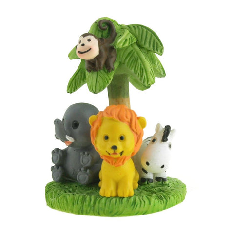 Baby Shower Favor Souvenir, Safari Animal / Votive Candle. 3-Inch