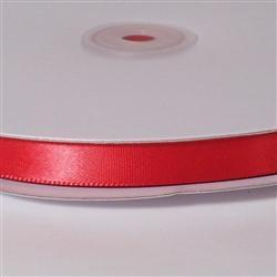 Single-faced Satin Ribbon 1/4-inch, 100-Yard, Christmas Scarlet Red