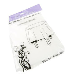 Paper Thin-Cloth Table Covers, White