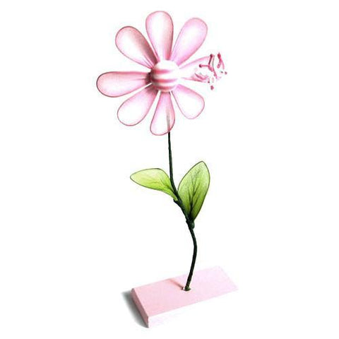 Fower Place Card Holder, 10-inch, Light Pink