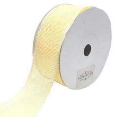 Loose Weave Faux Jute Ribbon, 1-1/2-Inch, 10-Yards