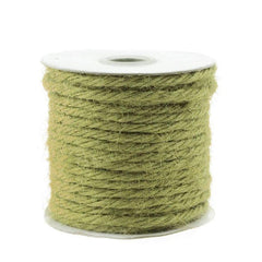 Jute Twine Cord Rope Ribbon, 1/8-Inch, 25 Yards