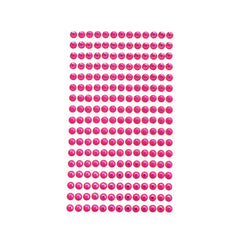 Rhinestone Gems Sticker Strips, 1/4-Inch, 17-Count
