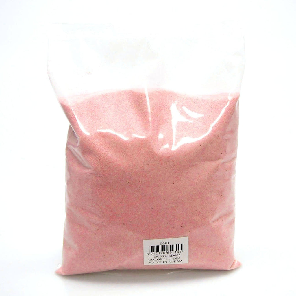 Light Pink Colored Art Sand Vase Fillers and Crafts, 2-pound