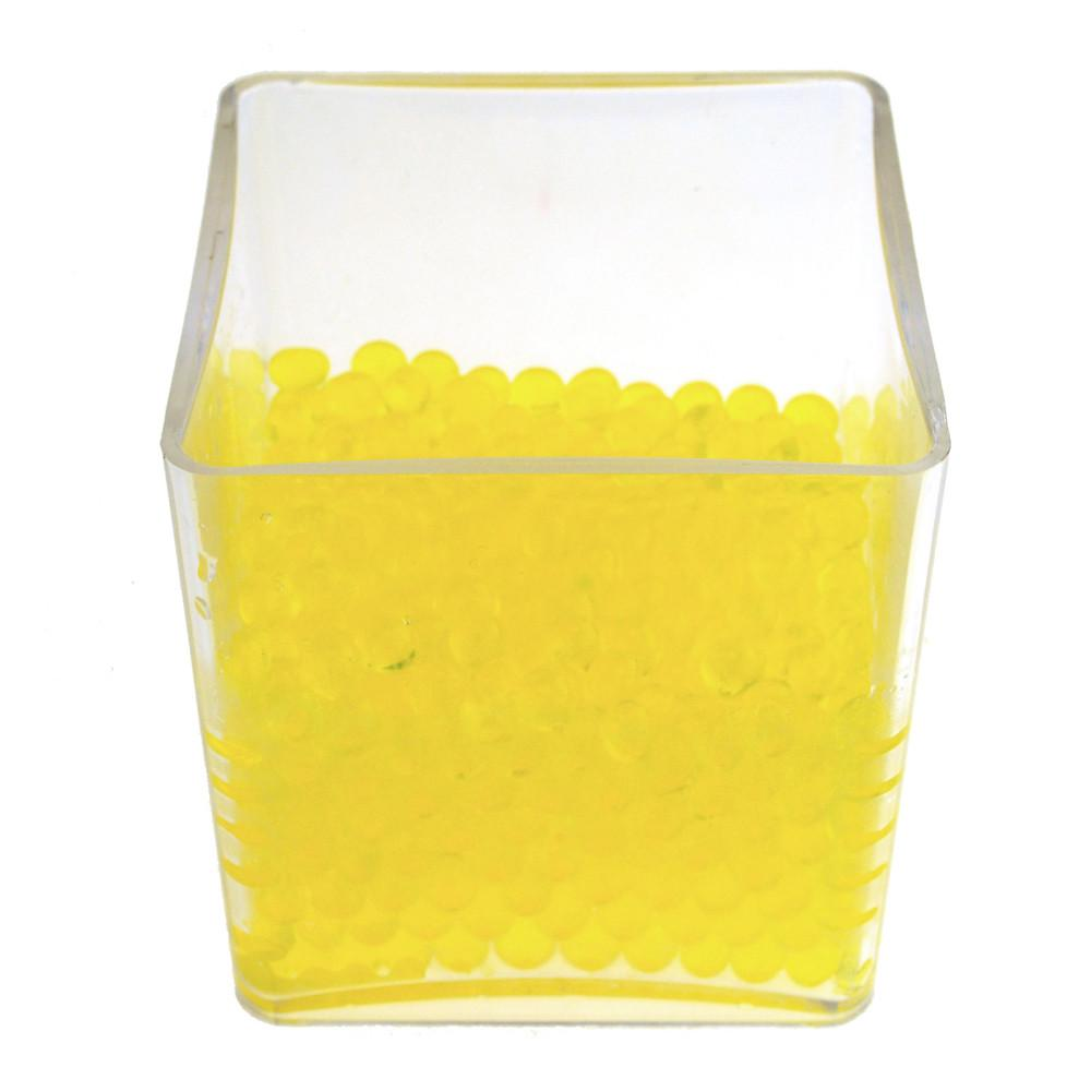 Water Beads Jelly Balls Vase Filler, 500-Gram BULK, Yellow