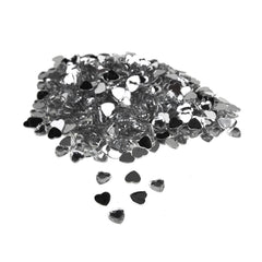 Heart-Shaped Acrylic Rhinestone Diamonds