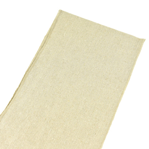 Natural Linen Chair Sash Selvage Edge, 8-Inch, 3-Yard