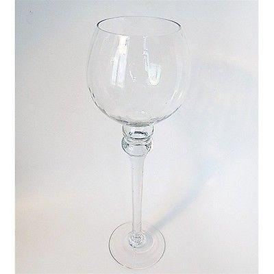 Goblet Glass Candle Holder Table Centerpiece