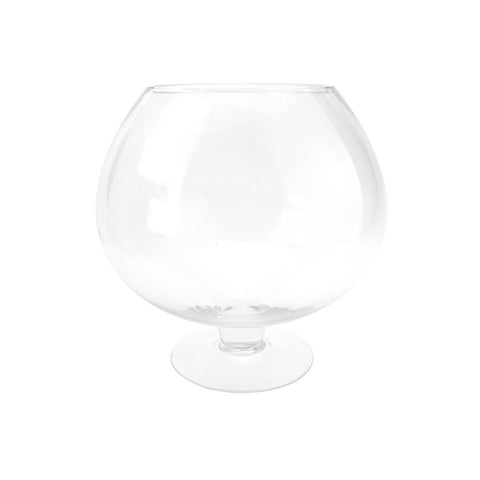 Clear Stem Bowl Vase, 9-Inch [Closeout]