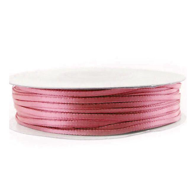 Double Faced Satin Ribbon, 1/16-inch, 100-yard, Colonial Rose