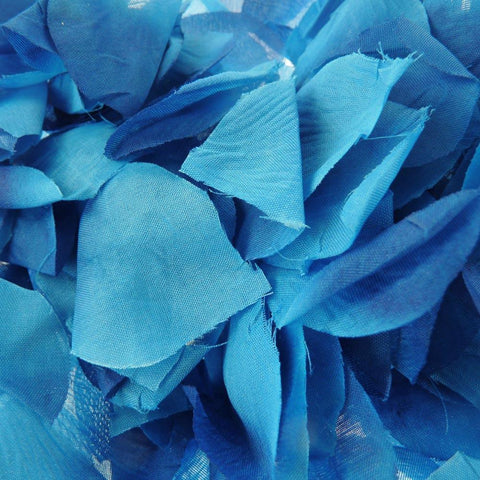 Solid Faux Rose Petals Table Confetti, 400-Piece, Royal Blue