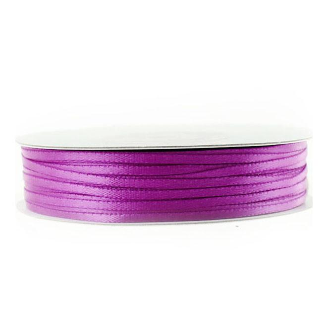 Double Faced Satin Ribbon, 1/16-inch, 100-yard, Fuchsia