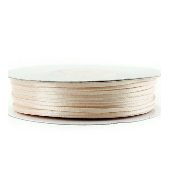 Double Faced Satin Ribbon, 1/16-inch, 100-yard, Ivory