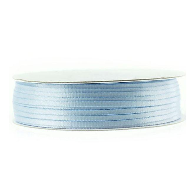 Double Faced Satin Ribbon, 1/16-inch, 100-yard, Light Blue