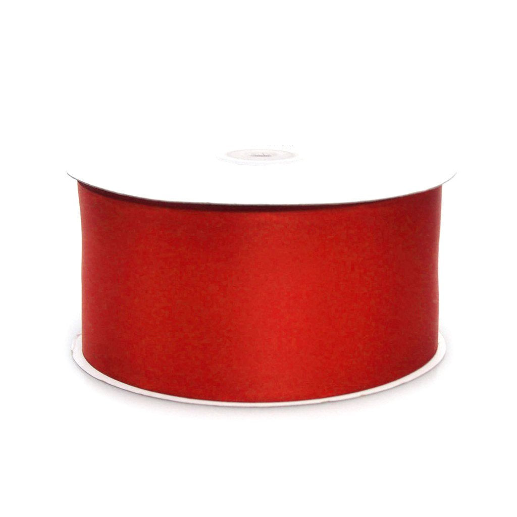 Double Faced Satin Ribbon, 1-1/2-inch, 50-yard, Red
