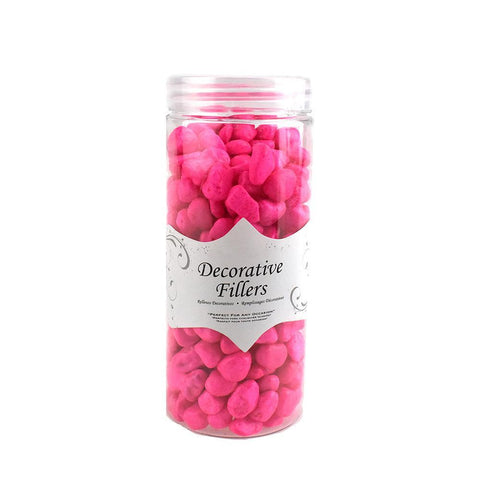 Acrylic Crystal Rocks Decorative Vase Filler, 9/10-Pound, Fuchsia