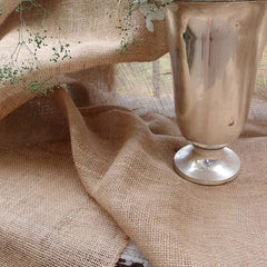 Natural Burlap Jute Fiber Tablecloths, Sheet, Wrapper, Table Runner