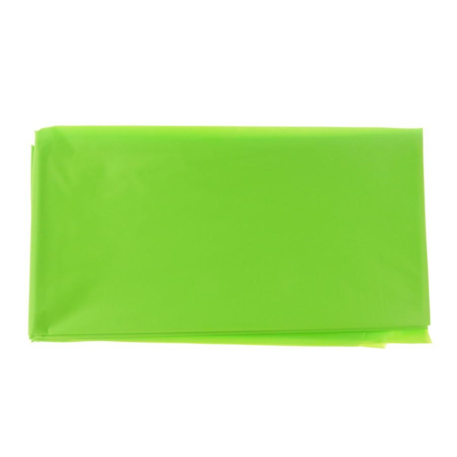 Plastic Table Cover, Rectangular, 54-Inch x 108-Inch, Apple Green