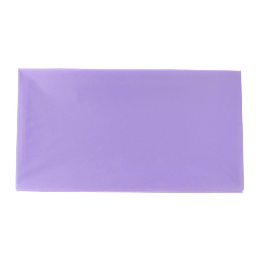 Plastic Table Cover, Rectangular, 54-Inch x 108-Inch, Lavender