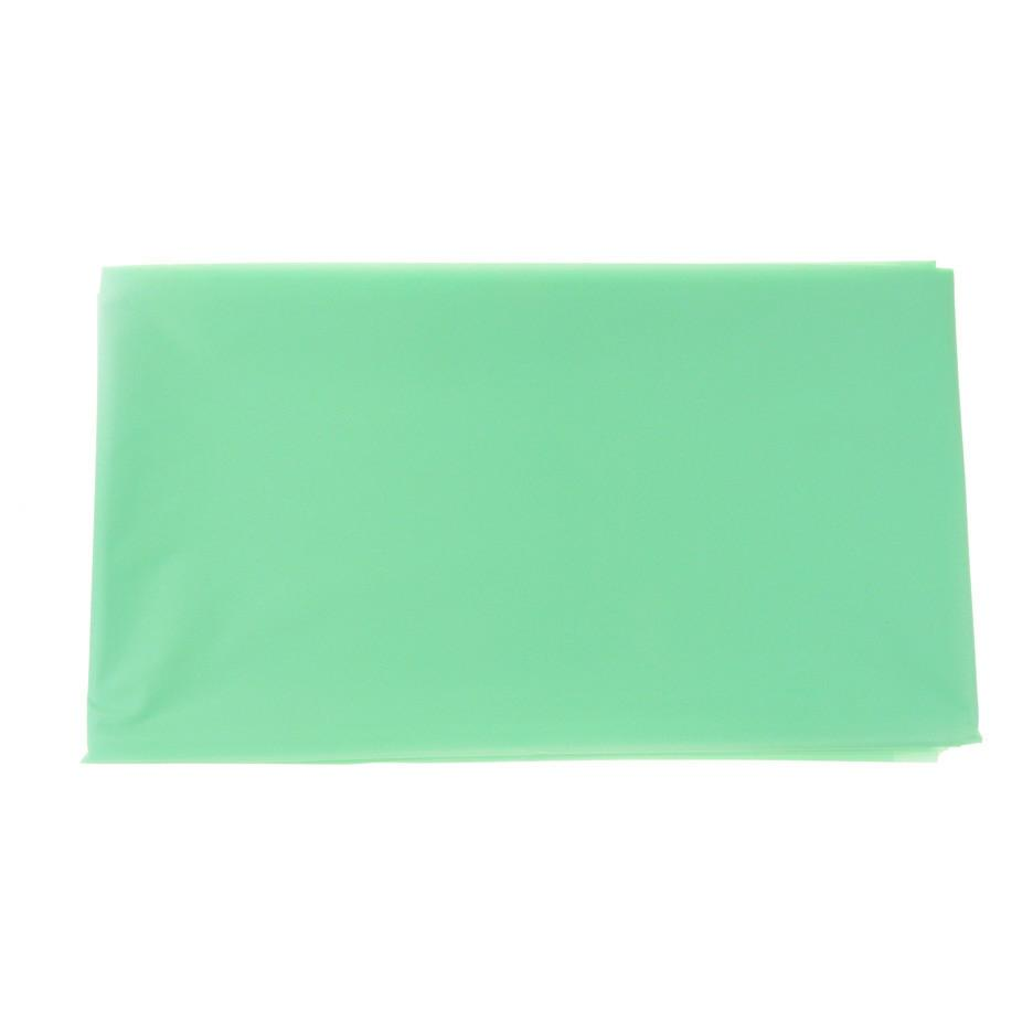 Plastic Table Cover, Rectangular, 54-Inch x 108-Inch, Mint Green
