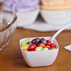 Plastic Mini Dessert Bowl Appetizers, 18-piece