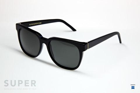 Super People Black Sunglasses