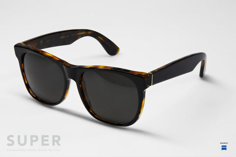 Super Classic Havana Black Top Sunglasses