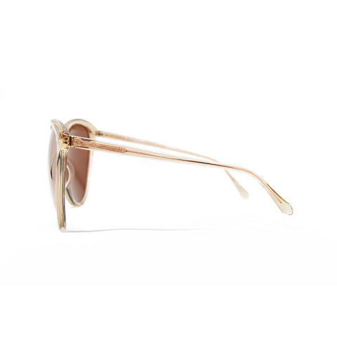 Linda Farrow 496 Oversized Sunglasses in Ash